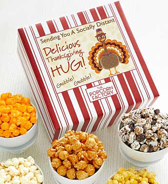 Packed With Pop™ Sending You A Socially Distant Delicious Thanksgiving Hug